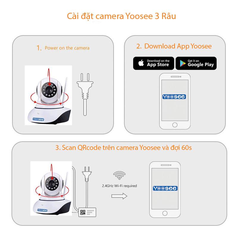 Hướng Dẫn Cài Đặt Camera Yoosee qua điện thoại