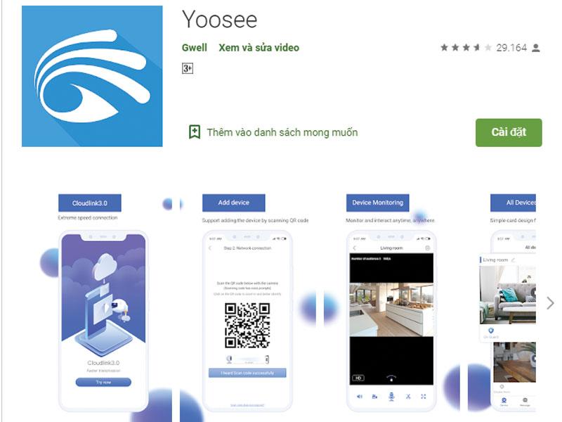 Tải Ứng dụng App Yoosee