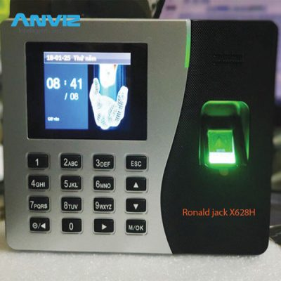 Máy Chấm Công Ronald Jack X628H Có Pin Lưu Điện 4h-8h