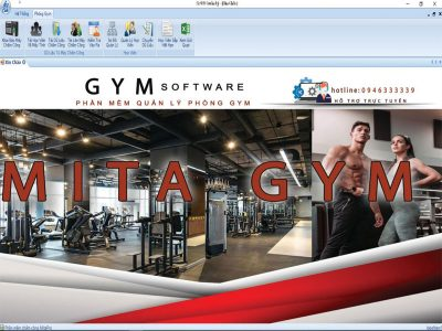 Hệ Thống Phần Mềm Quản Lý Phòng Gym Bằng Vân Tay