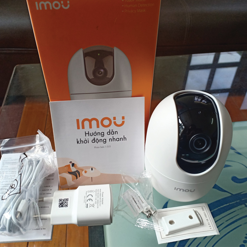 Đóng gói sản phẩm camera IMOU IPC-A22EP