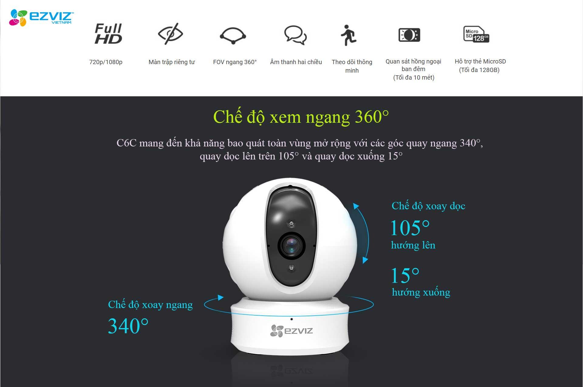 camera ezviz xoay CS-CV246