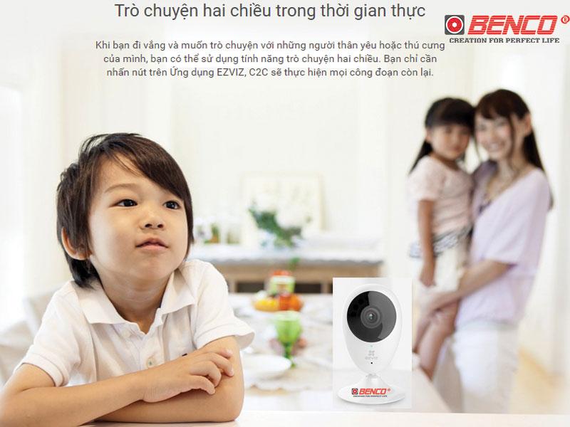 Camera Ezviz C2C đàm thoại 2 chiều