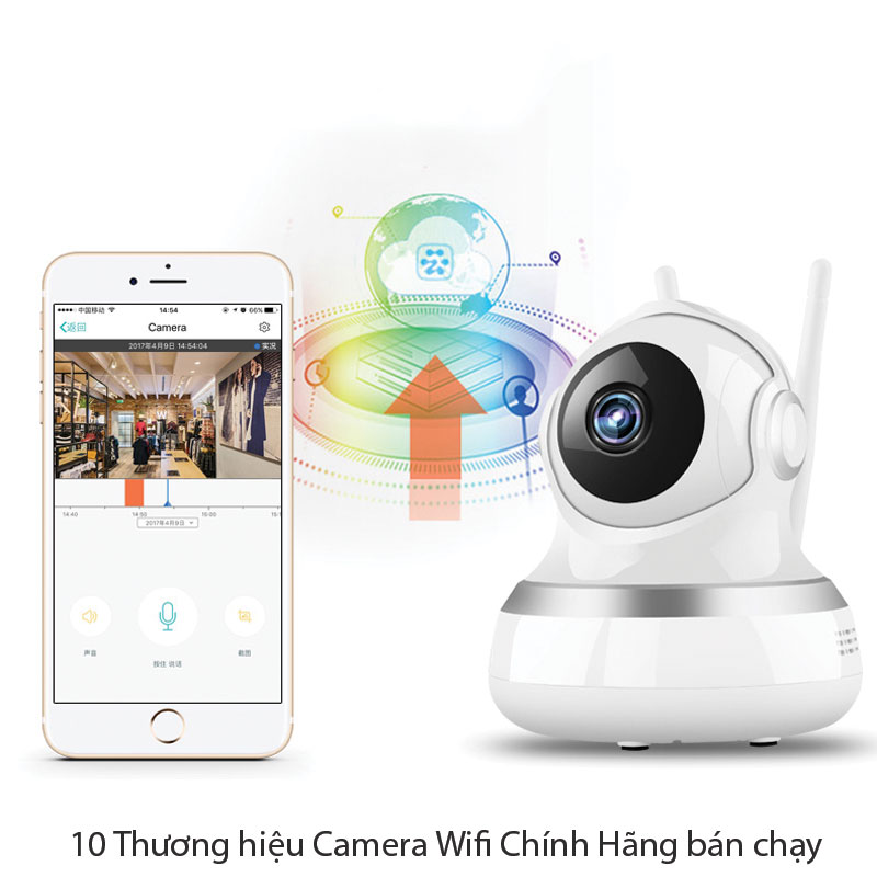 10 Thương hiệu Camera Wifi Chính Hãng bán chạy nhất hiện nay