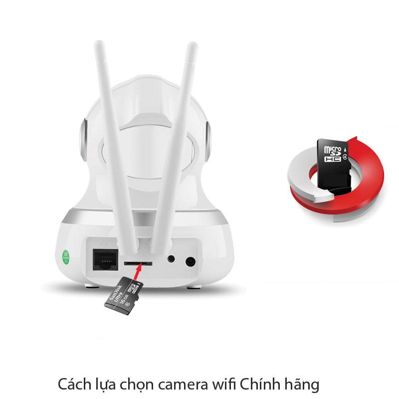 Cách lựa chọn camera wifi Chính hãng