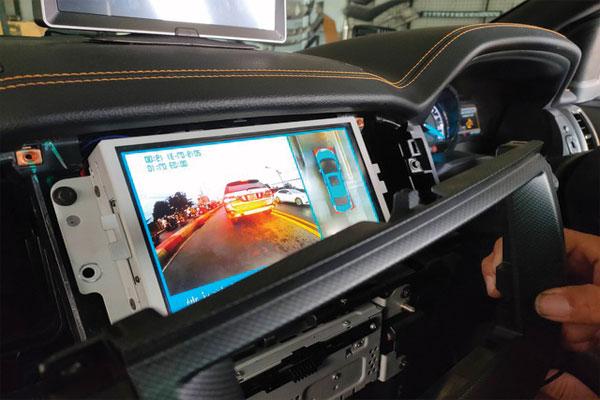 Camera Hành Trình 360 độ quan sát cả xe