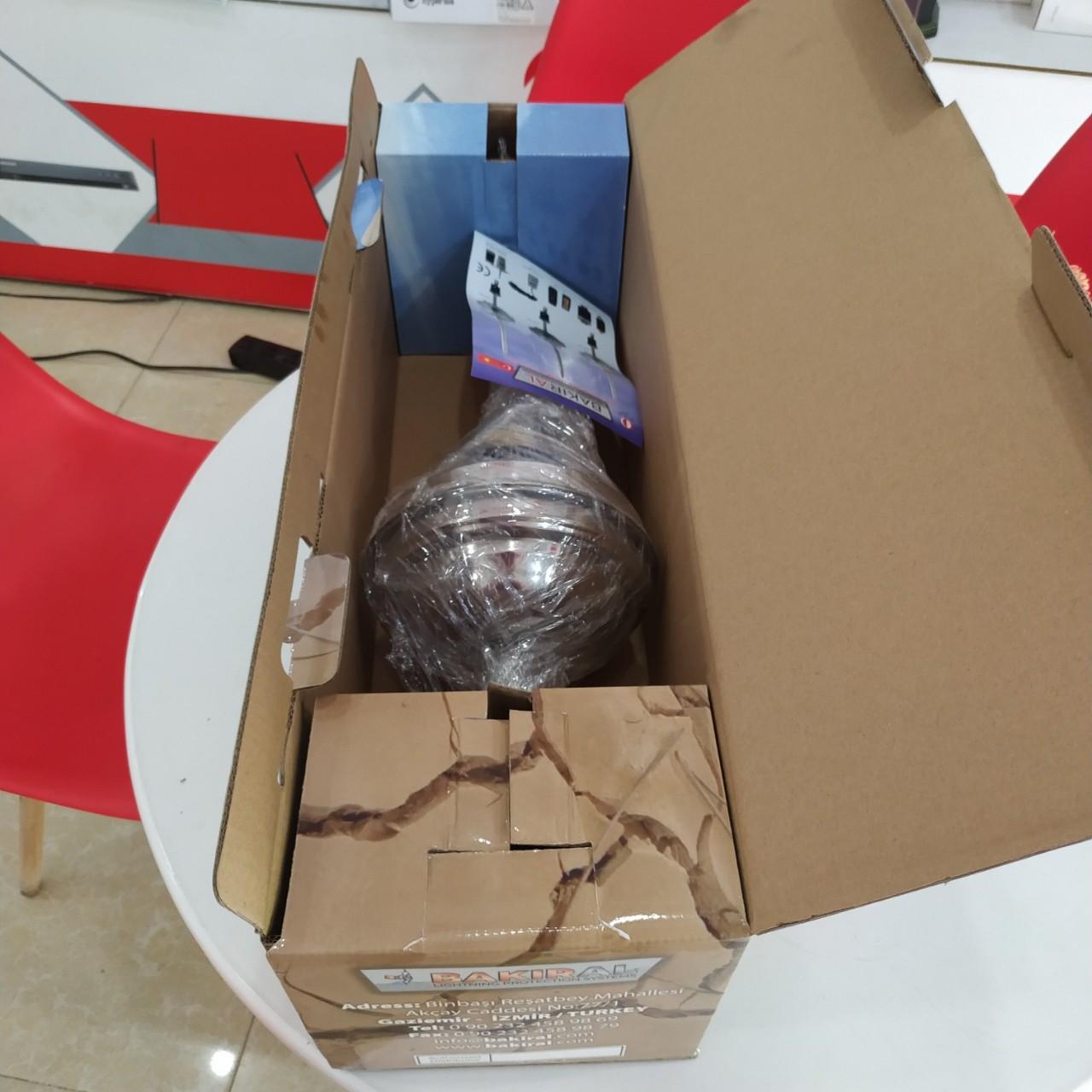 Bao bì đóng gói sản phẩm kim thu sét