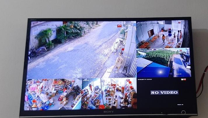 Hình ảnh thực tế camera ghi lại